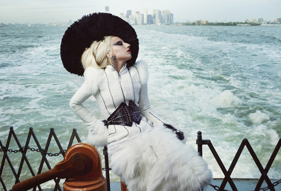 Barbra-inspired Lady Gaga for Vanity Fair
