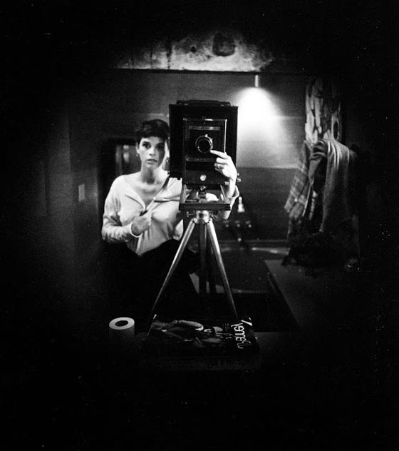 Sally Mann, Self-portrait, 1974