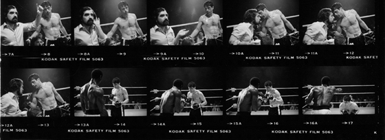 Raging Bull featuring Robert DeNiro, 1980