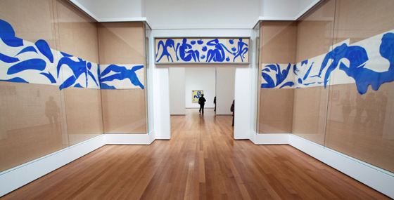 """The Swimming Pool"" installation from 1952, refurbished in 2008. MoMA owns this work."