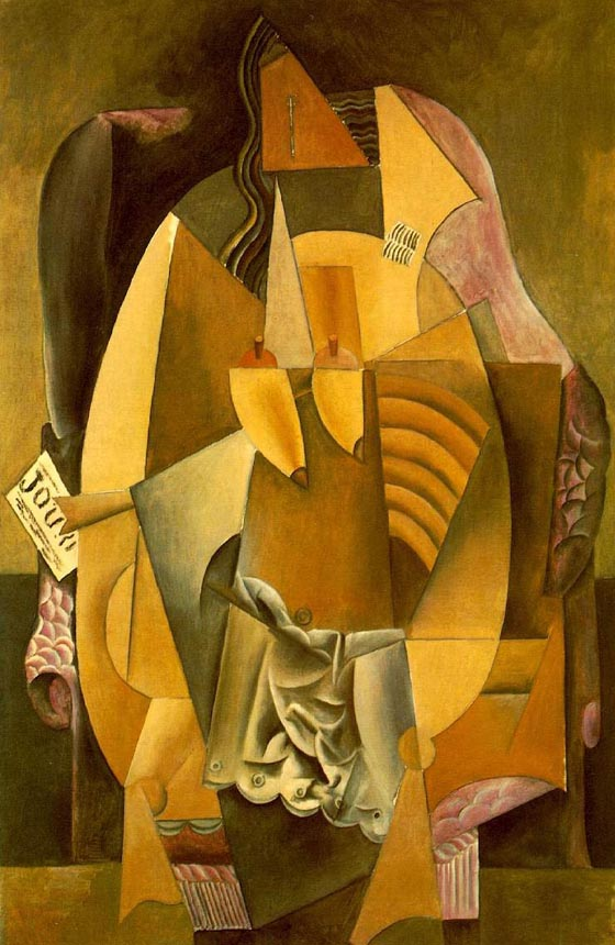 "Pablo Picasso's 1913 ""Femme(Eva)""(Woman in an Armchair) was donated to The Met by Lauder"