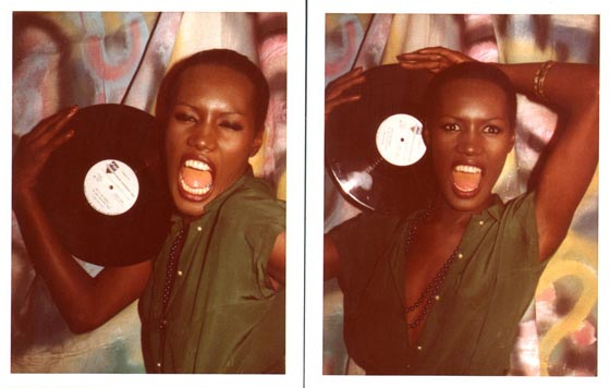 Grace Jones, New York, 1976