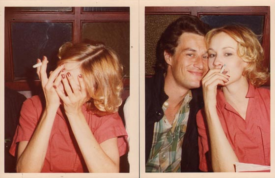 Jessica Lange and Gilles Millinaire, London, 1975