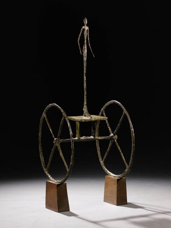 Alberto Giacometti, 1951-52, Chariot, est. $100 million