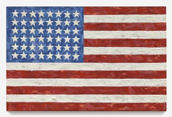 Jasper Johns, Flag, 1994, est. $15-20 million