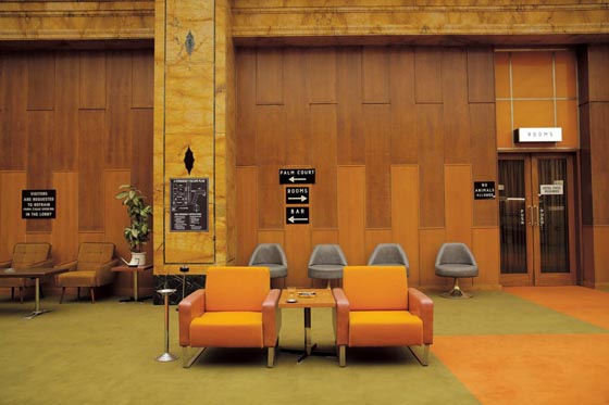The Grand Budapest Hotel, 2014, 1960s lobby