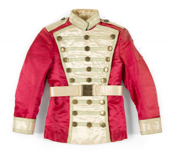 SHIRLEY TEMPLE POOR LITTLE RICH GIRL JACKET, EST $40-60,000
