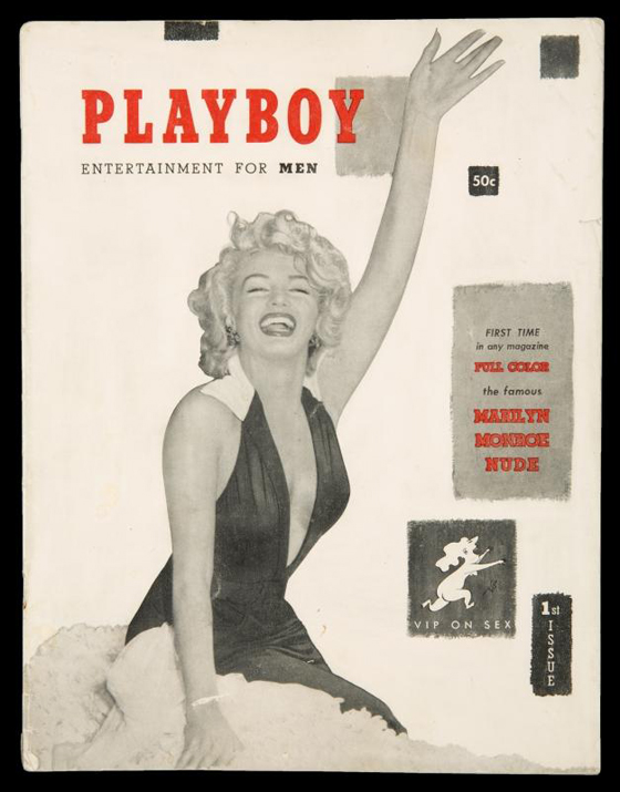 MARILYN MONROE FIRST ISSUE OF PLAYBOY MAGAZINE, EST. $3-5,000