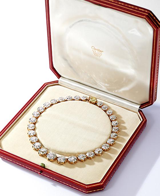 GOLD & DIAMOND RIVIÈRE, CARTIER, Est. $1,250,000 — 1,500,000; Sold $2,797,000