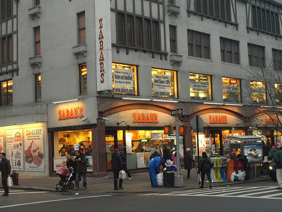 ZABAR'S – This family-operated Kosher grocery has been a fixture on the Upper West Side for over 80 years. This IS what makes New York, New York.