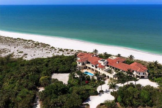 Harold could pay cash for Mandalay which sits on 320 feet of private beachfront on Sanibel Island, on Florida's West Coast. (Get the lot next door too, for privacy insurance.) Through Christie's International Real Estate, $18,500,000.