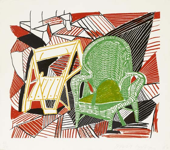 DAVID HOCKNEY –est. $ 5,000 – 7,000