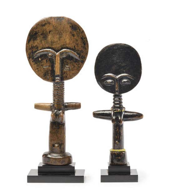 TWO FERTILITY FIGURES – est. $800 – 1,200