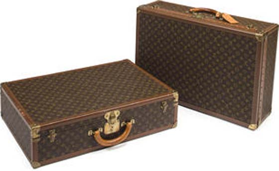 TWO LOUIS VUITTON SUITCASES – $1,500 – 2,000