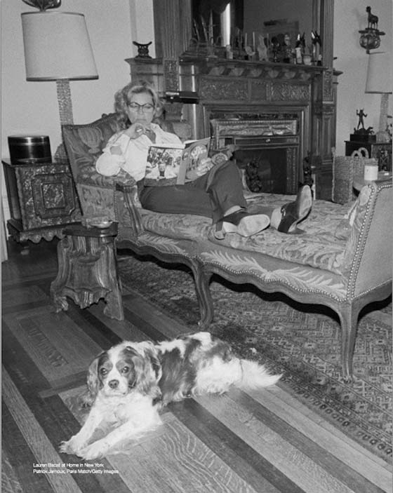 Betty at home in the Dakota