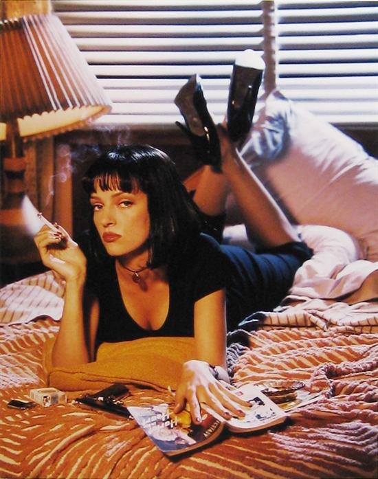 Firooz Zahedi   Uma Thurman, Pulp Fiction, 1994   Est. $4,000–6,000