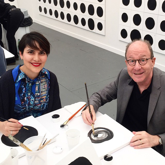 New York magazine's art critic Jerry Saltz gets involved...