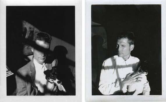 Trey & Spot, 1986. Photo, Mark Morrisroe