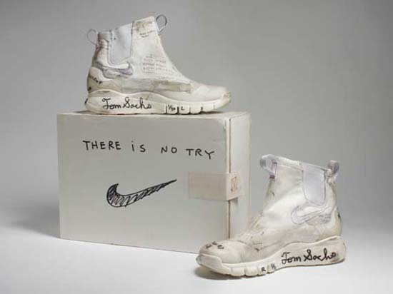 Nike x Tom Sachs. NikeCraft Lunar Underboot Aeroply Experimentation Research Boot Prototype, 2008–12
