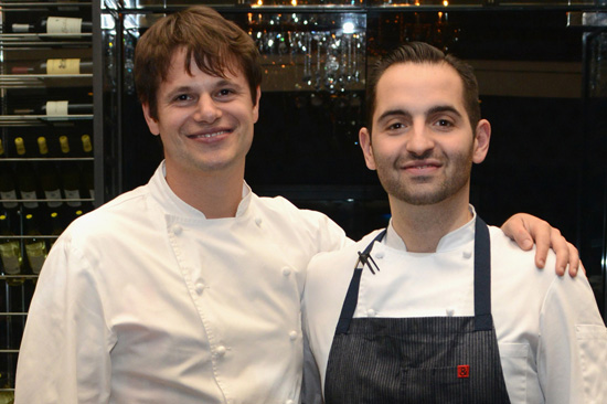 Chefs Rich Torrisi and Mario Carbone (Photo, Getty)
