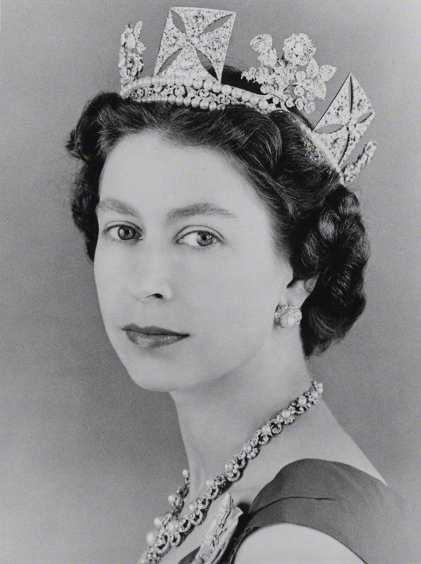 Queen Elizabeth II, by Lord Snowdon, 1957