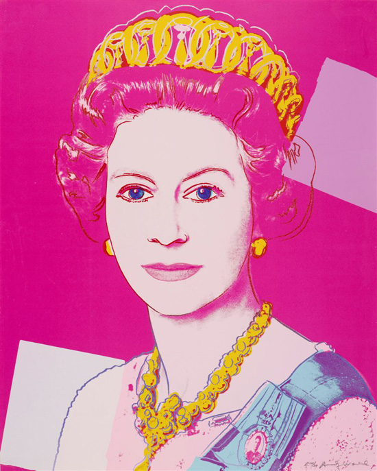 Andy Warhol, Queen Elizabeth II of the United Kingdom, 1985