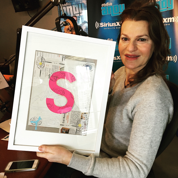 S is for Sandyland, SiriusXM & Sandy. (& Speegle)