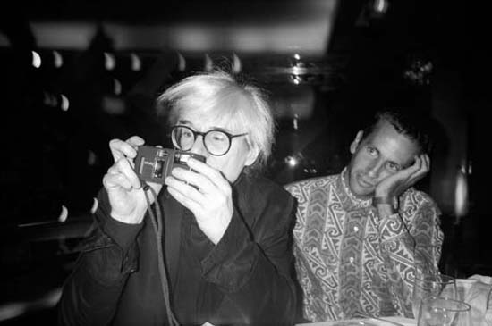 Andy Warhol & Kenny Scharf, Mr. Chow, New York City, 1986
