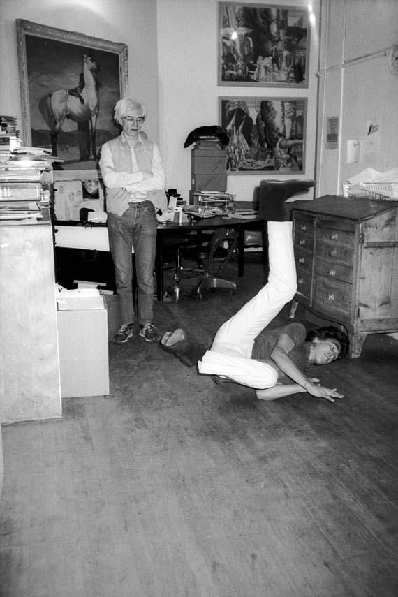 Andy Warhol Studio, 860 Broadway, NYC, 1983