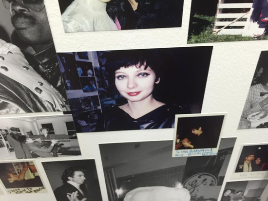 "Susan Hannaford (center) in a montage of Powel's pics in ""The Ride"""