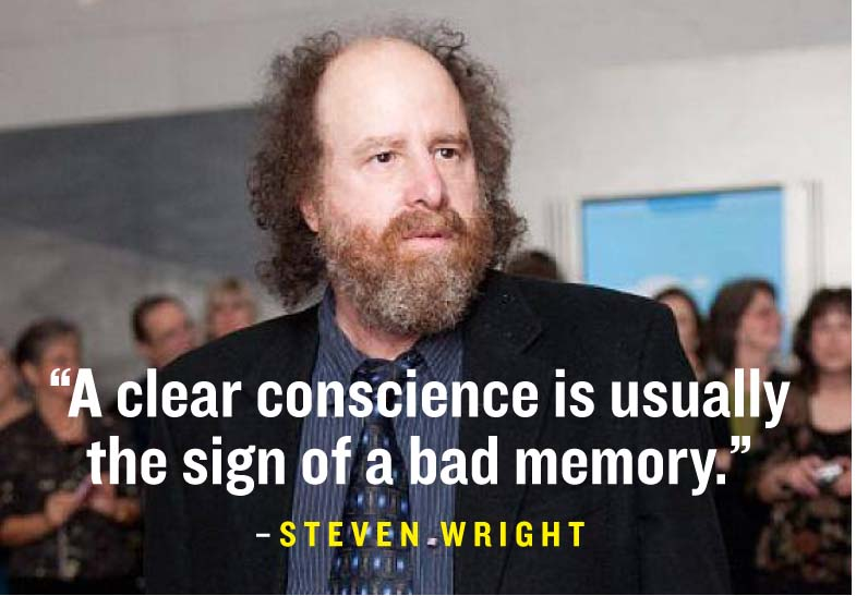 Best Steven Wright Quotes THEWRIGHTSTUFF: 35 OF THE BEST STEVEN WRIGHT QUOTES — Trey Speegle Best Steven Wright Quotes