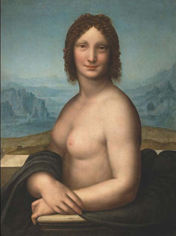 Monna Vanna – a nude version of the Mona Lisa.