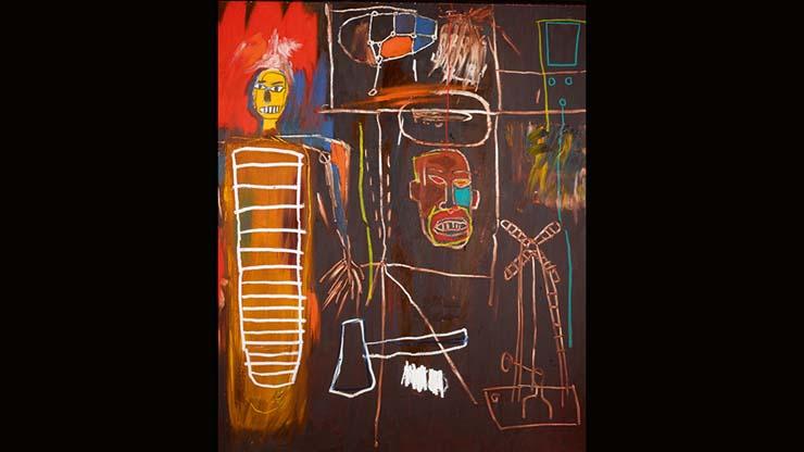 Jean Michael Basquiat, 1984