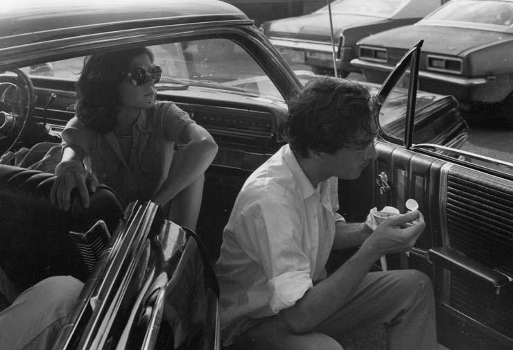 Maude & Bill in 1974. Photo by Tav Falco