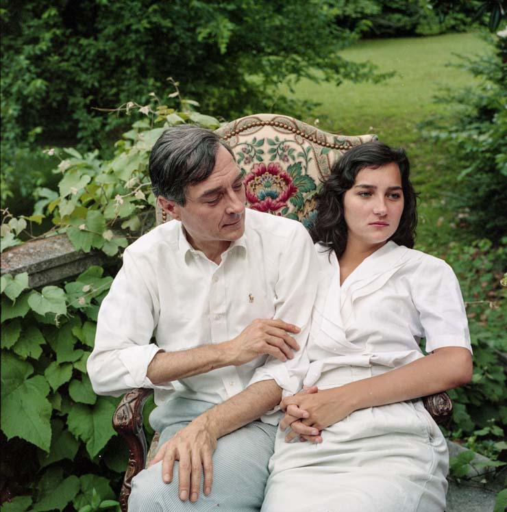 William Eggleston and his daughter, Andra by Maude Schuyler Clay