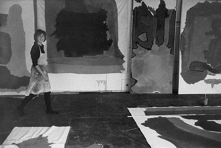 Helen Frankenthaler by Liberman