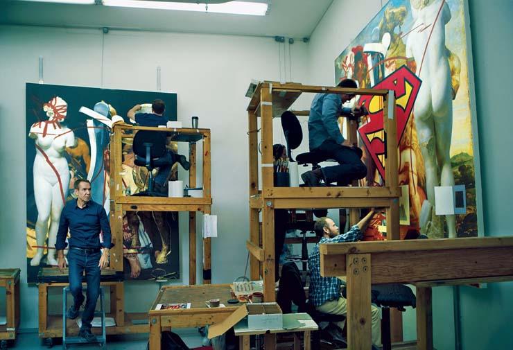 Jeff Koons by Leibovitz
