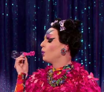 "Katya on ""RuPaul's Drag Race All Stars 2"" as Björk"