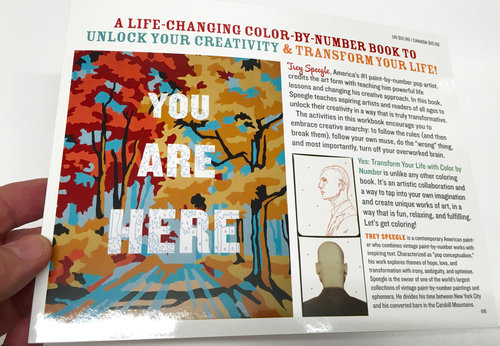 YES: TRANSFORM YOUR LIFE WITH COLOR BY NUMBER coloring book — Trey ...