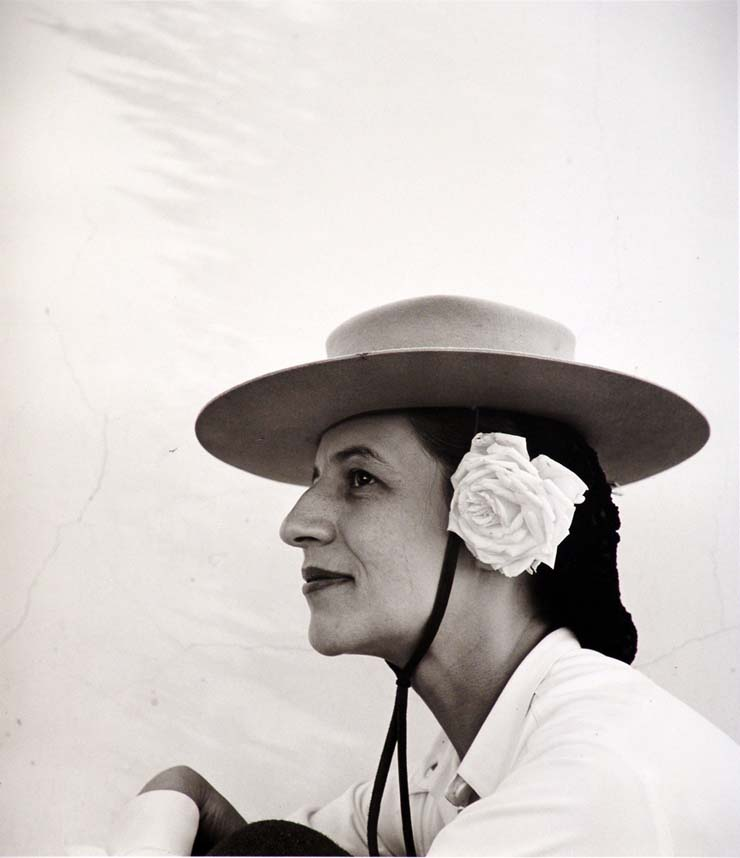 Diana Vreeland by Louise Dahl Wolf