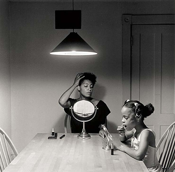 Carrie Mae Weems self-portrait