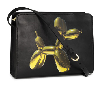 Koon's collaborated with H&M to create this bag to coincide with his 2014 Whitney retrospective. It sold for just $50.