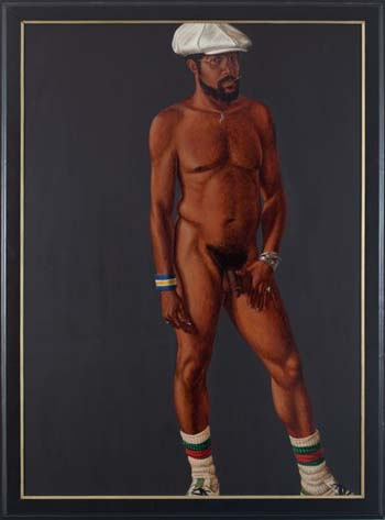 Barkley L. Hendricks, (self-portrait) Brilliantly Endowed, 1977
