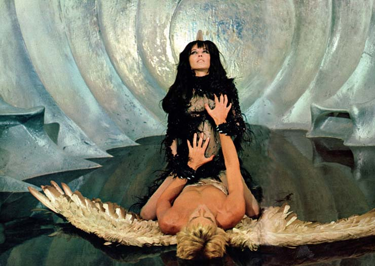 "In ""Barbarella"", 1967"
