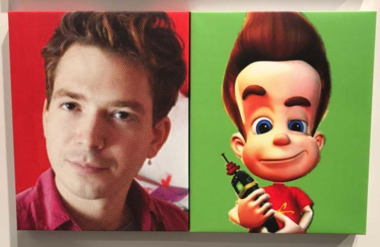 Artist Ryan Trecartin and Jimmy Neutron