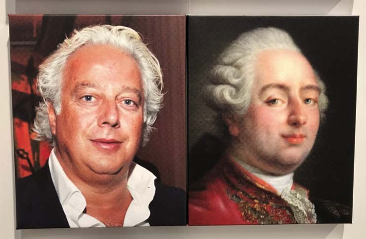 Art collector Aby Rosen and Louis XVI