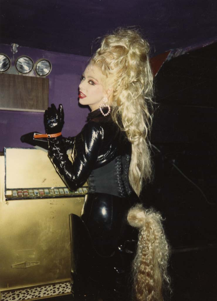 Pony girl, The Roxy, NYC, 1988