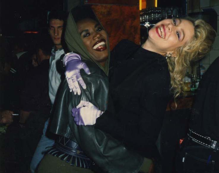 Grace Jones, Paris, 1989. Personal photo, Dianne Brill