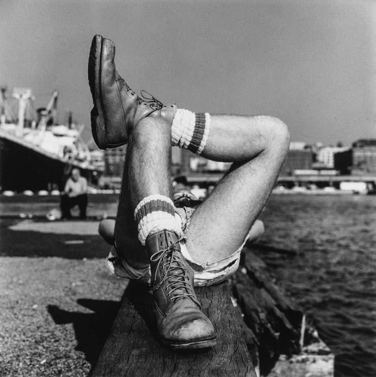 Peter Hujar, Christopher Street Pier, 1976