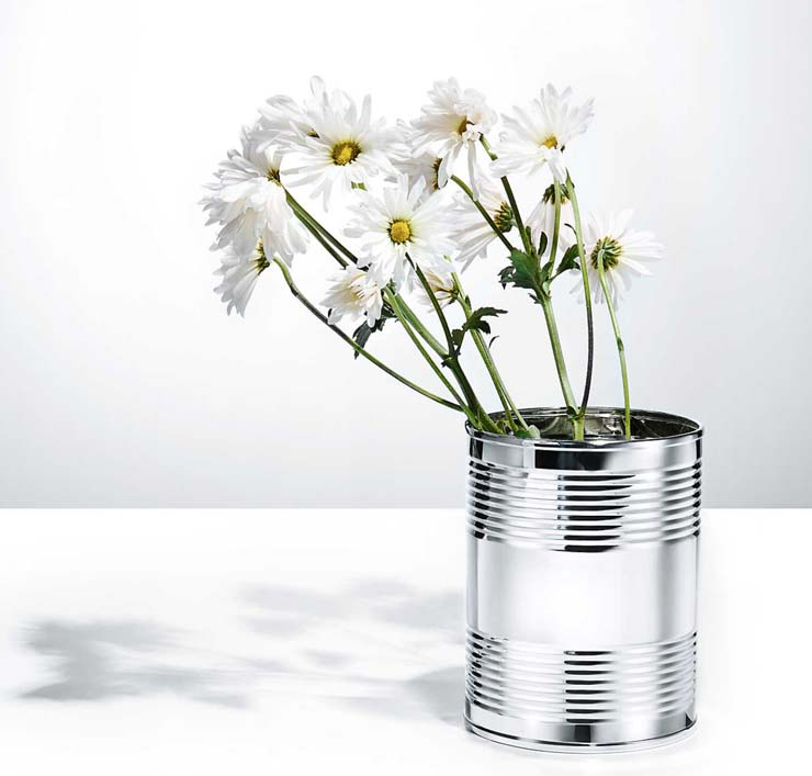 Sterling Silver Coffee Can, $1,500